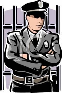 Prison Guard Clipart.