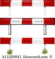 Guardrail Clip Art Royalty Free. 60 guardrail clipart vector EPS.