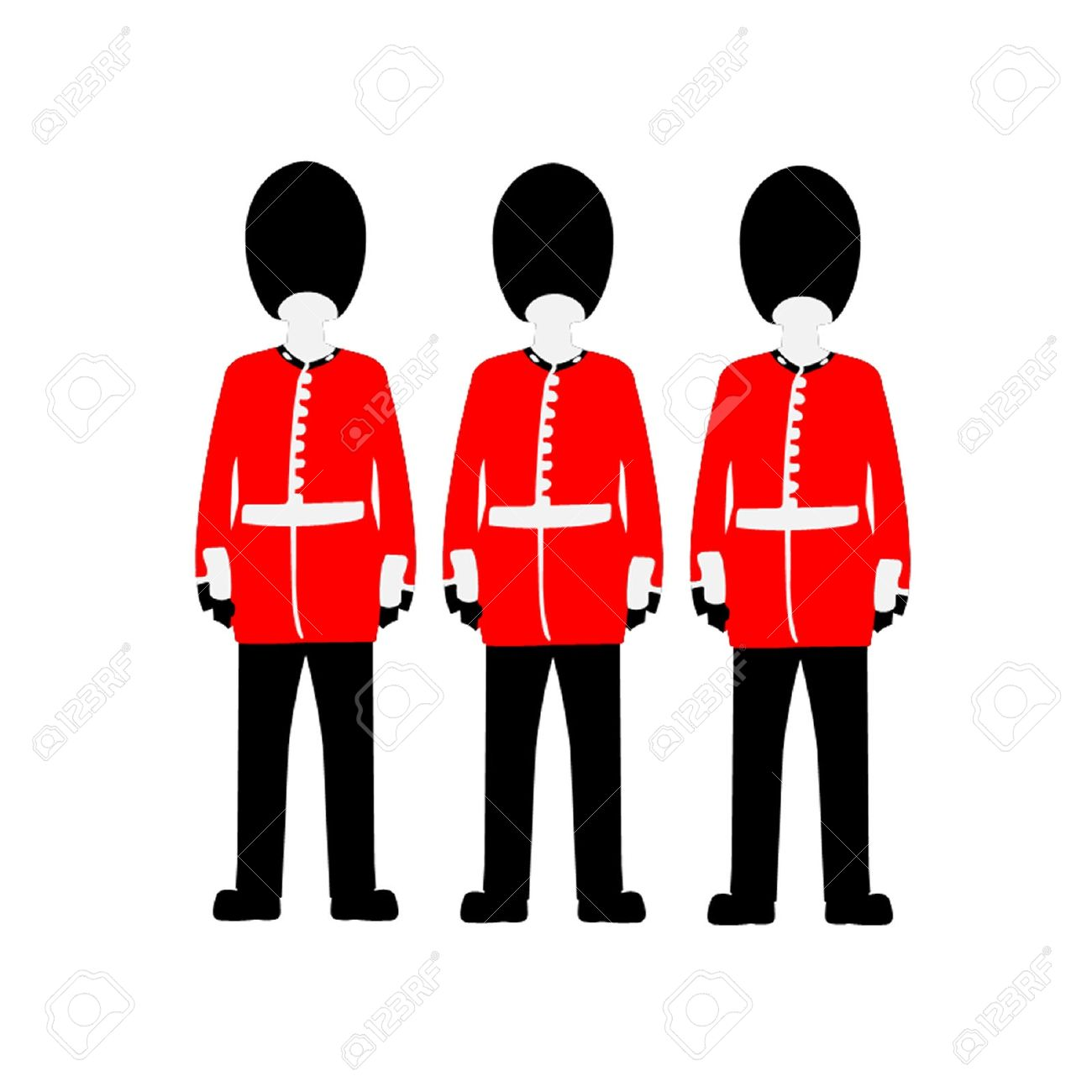 Guards clipart.
