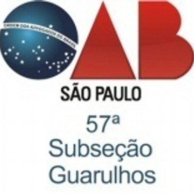 OAB Guarulhos (@OABGuarulhos).