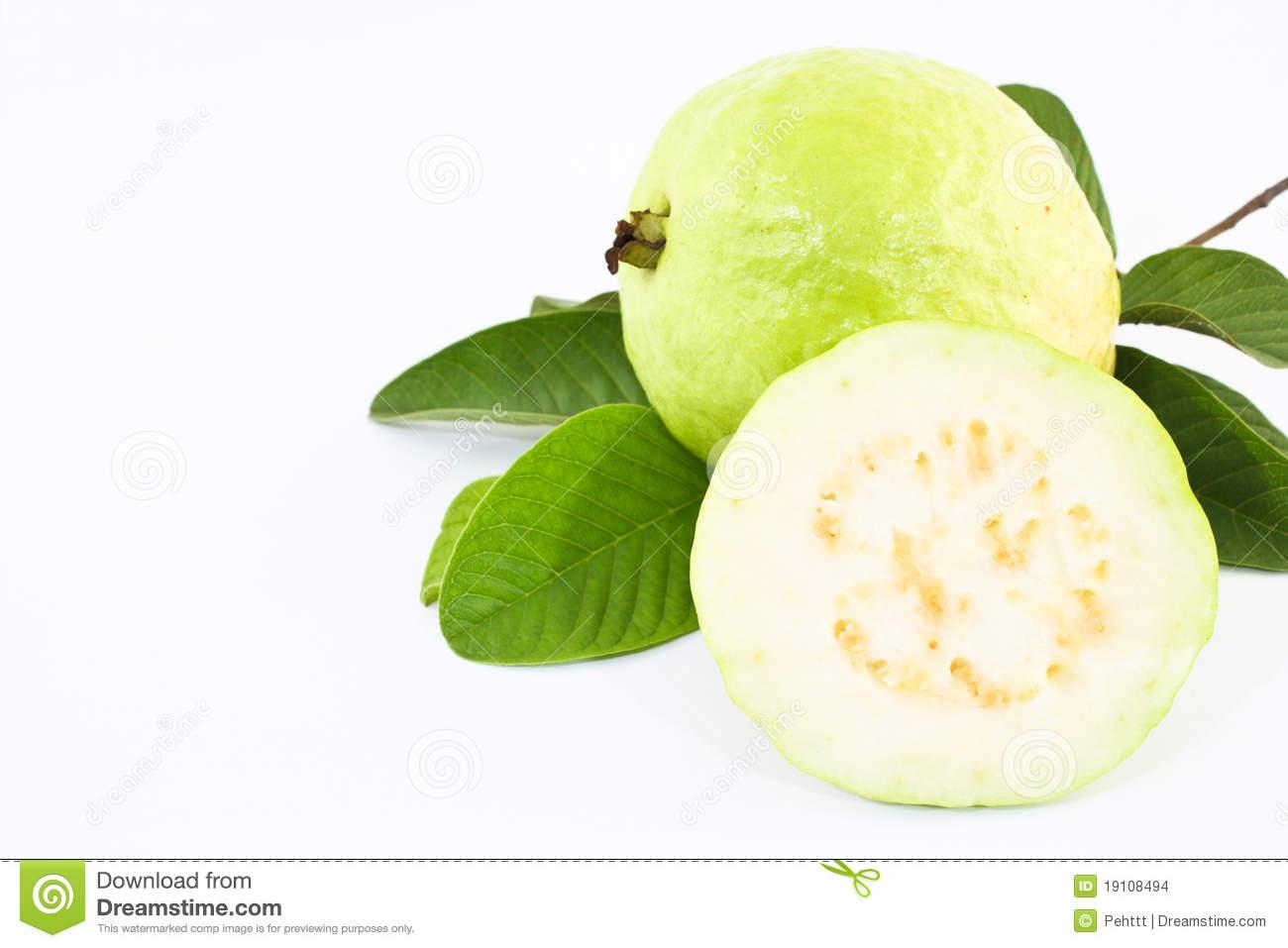 Thailand Pineapple Guava Fruit. Stock Photos.