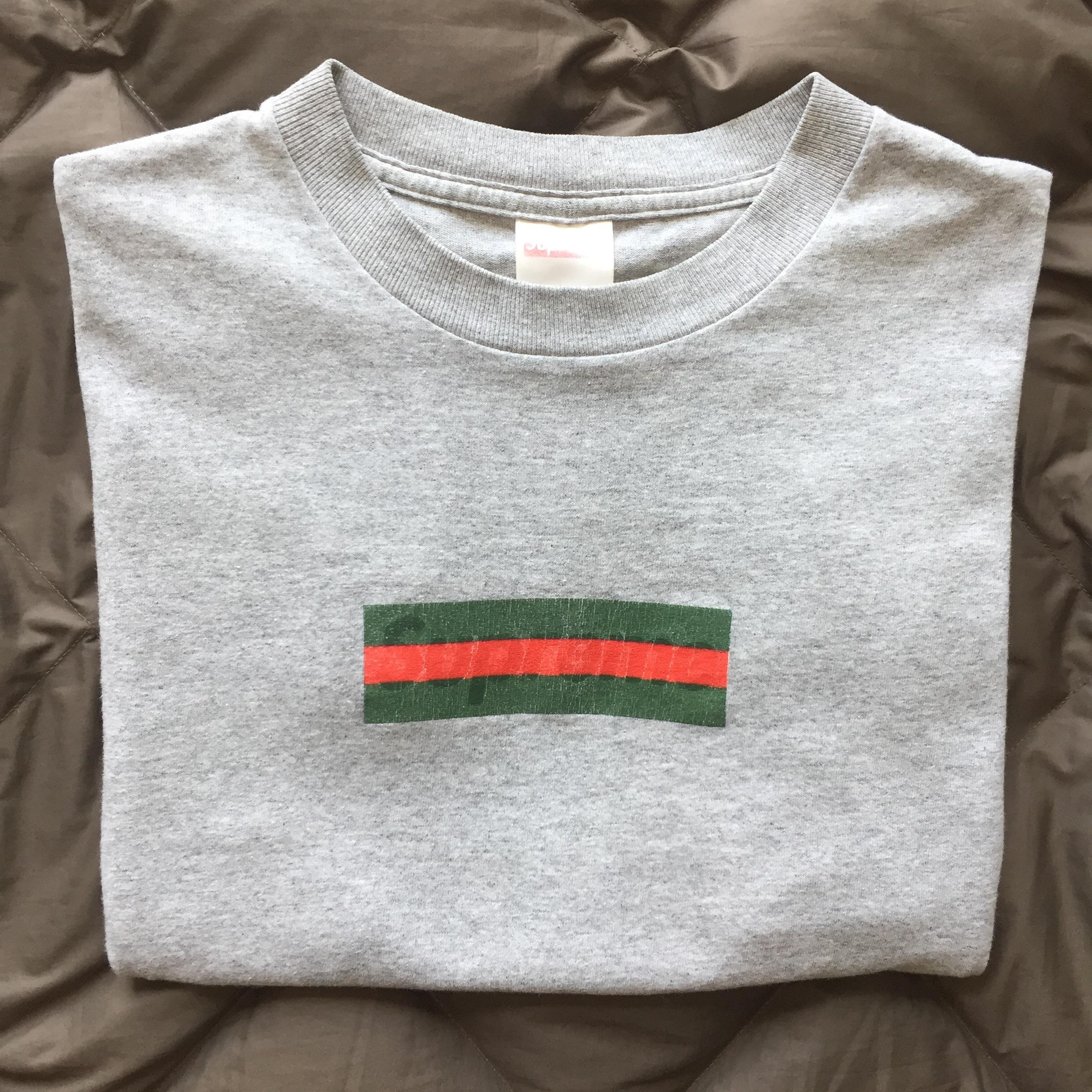 LPU] Gucci Box Logo Tee : supremeclothing.