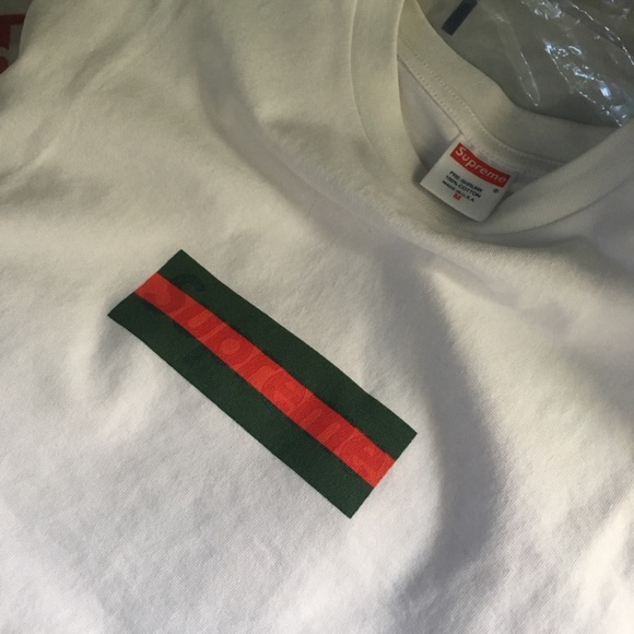 Supreme x Gucci box logo.