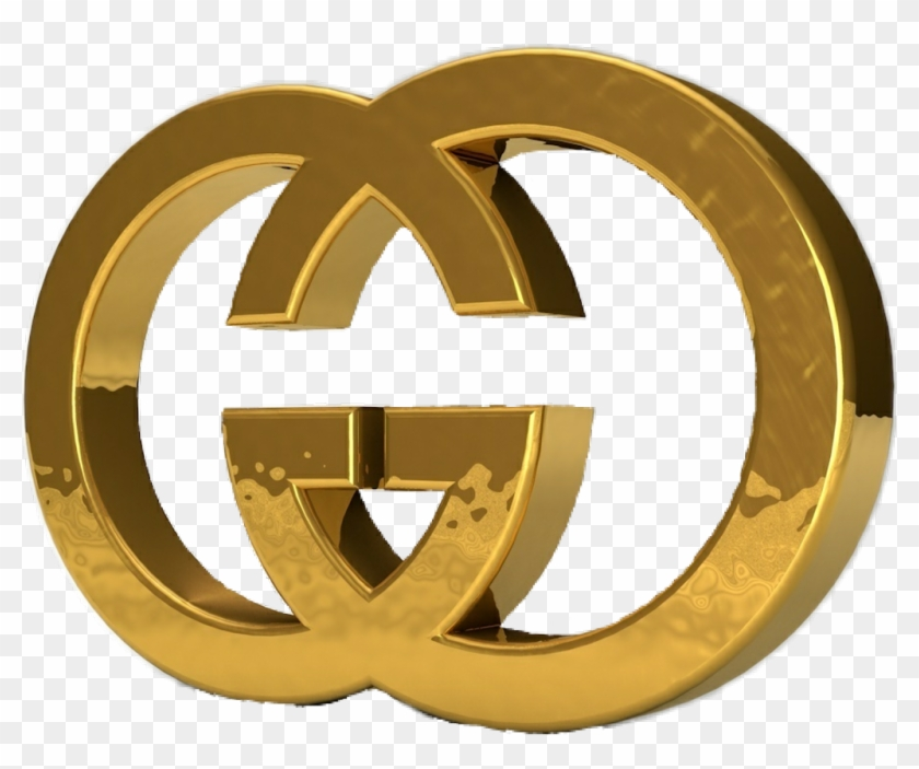 Gucci Clipart Sign Gold.
