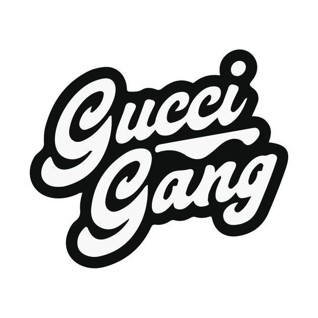 Gucci Gang Logo.