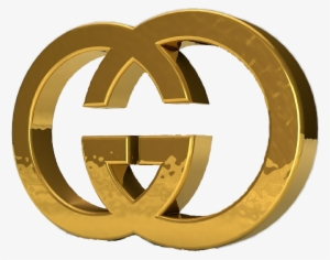 gucci gold logo png #7