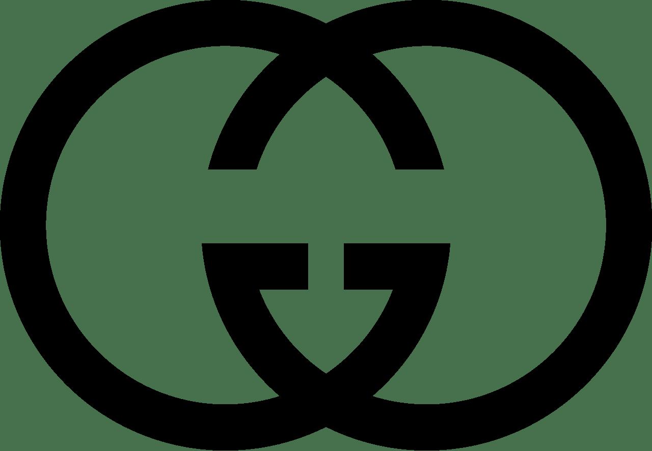 Gucci Letter Logo transparent PNG.