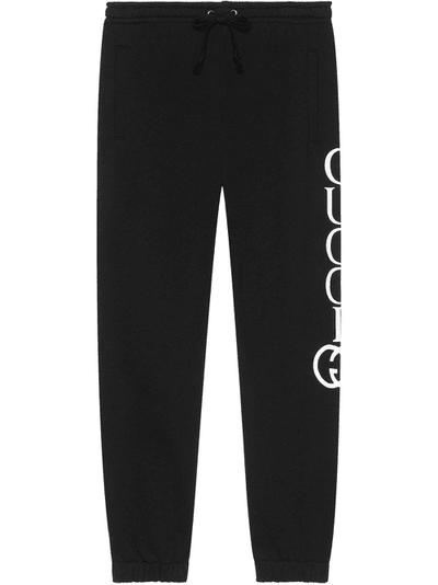 Gucci Jogging pants with Gucci print.