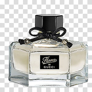 Gucci perfume bottle close.