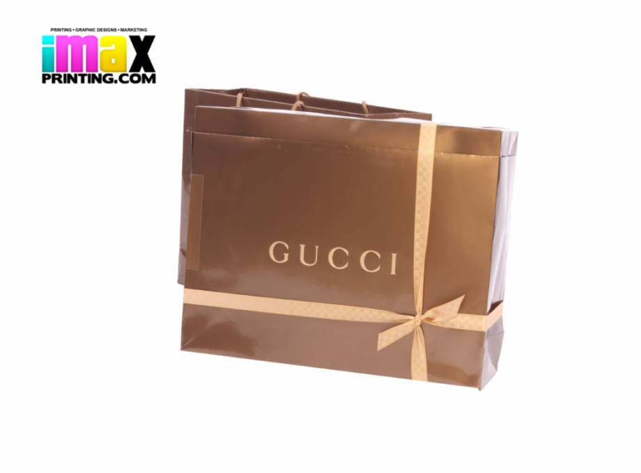 Share This Image Gucci Shopping Bag Transparent.