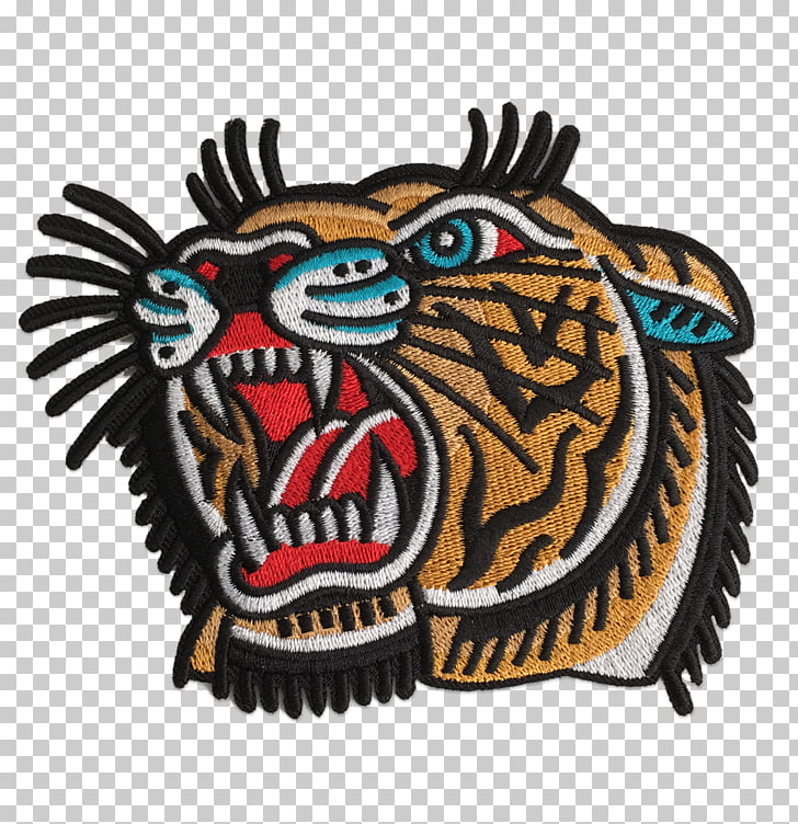 Embroidered patch Iron.