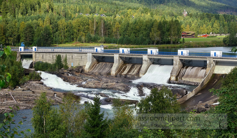 Industry : hydroelectric.