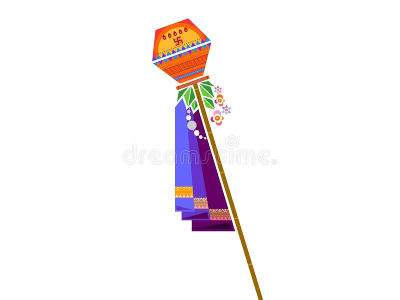 Gudi Padwa Stock Illustrations.