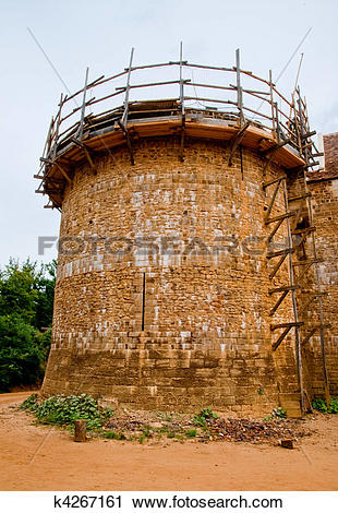 Stock Photography of Guedelon castle k4267161.