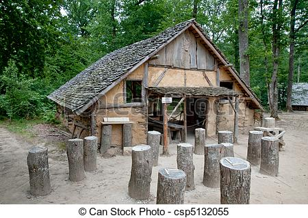 Stock Images of Guedelon building.