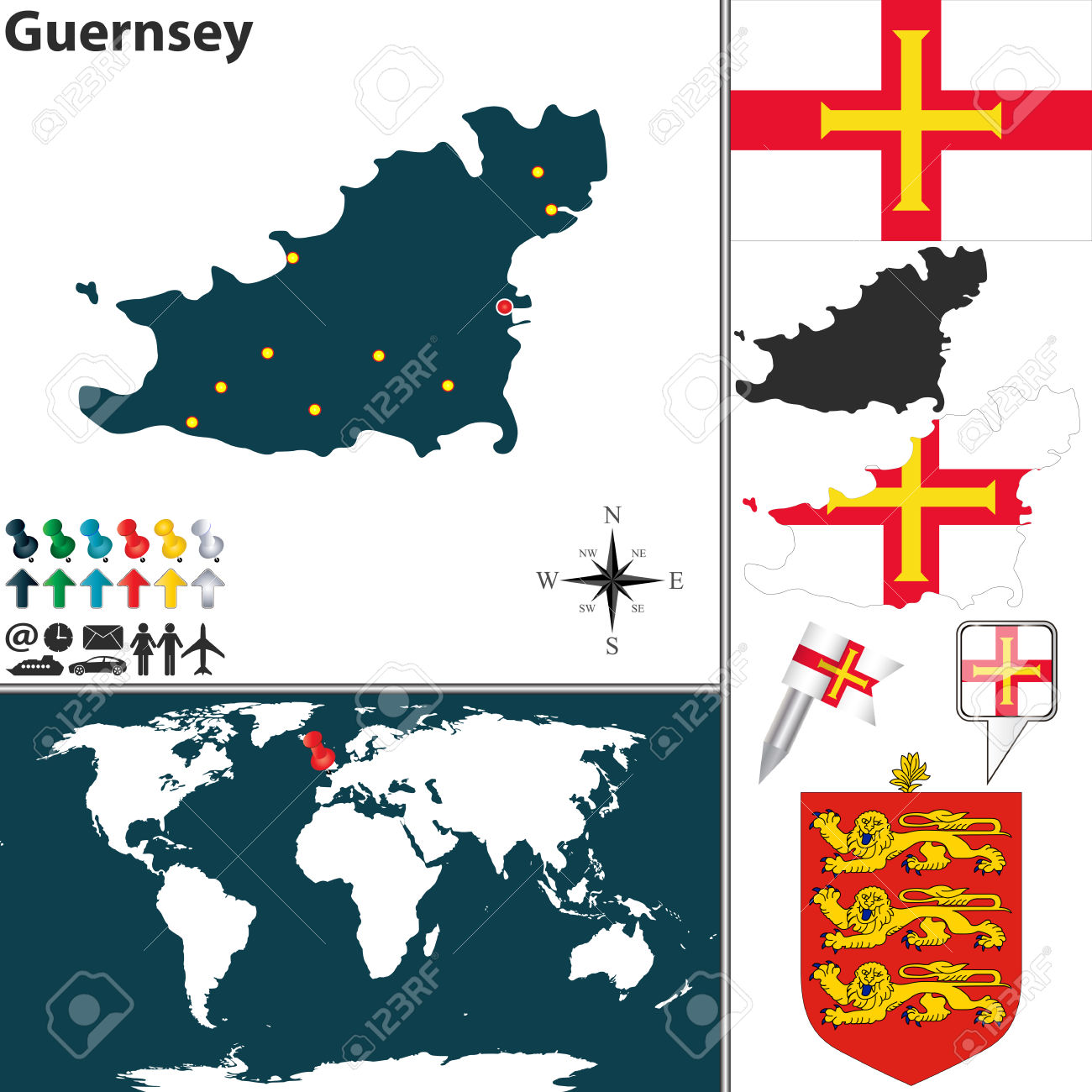 115 Island Of Guernsey Stock Illustrations, Cliparts And Royalty.