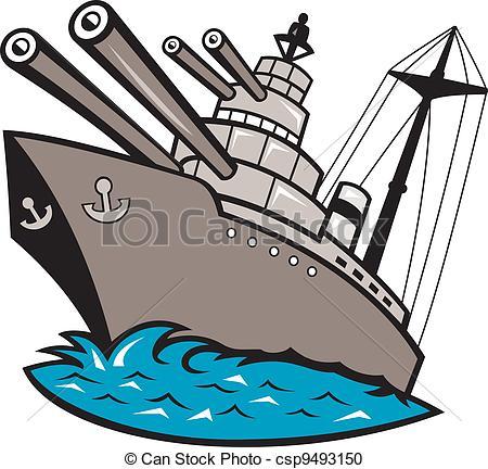 Warship 20clipart.