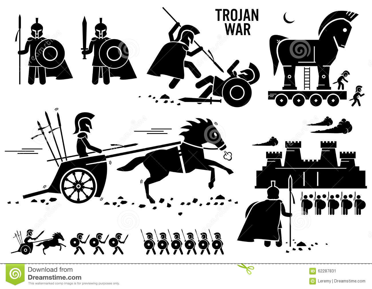 War Horse Stock Image.