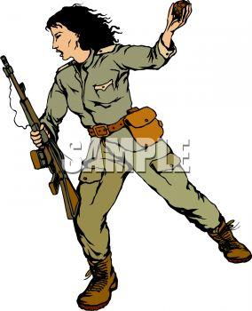 Guerrilla Clipart.