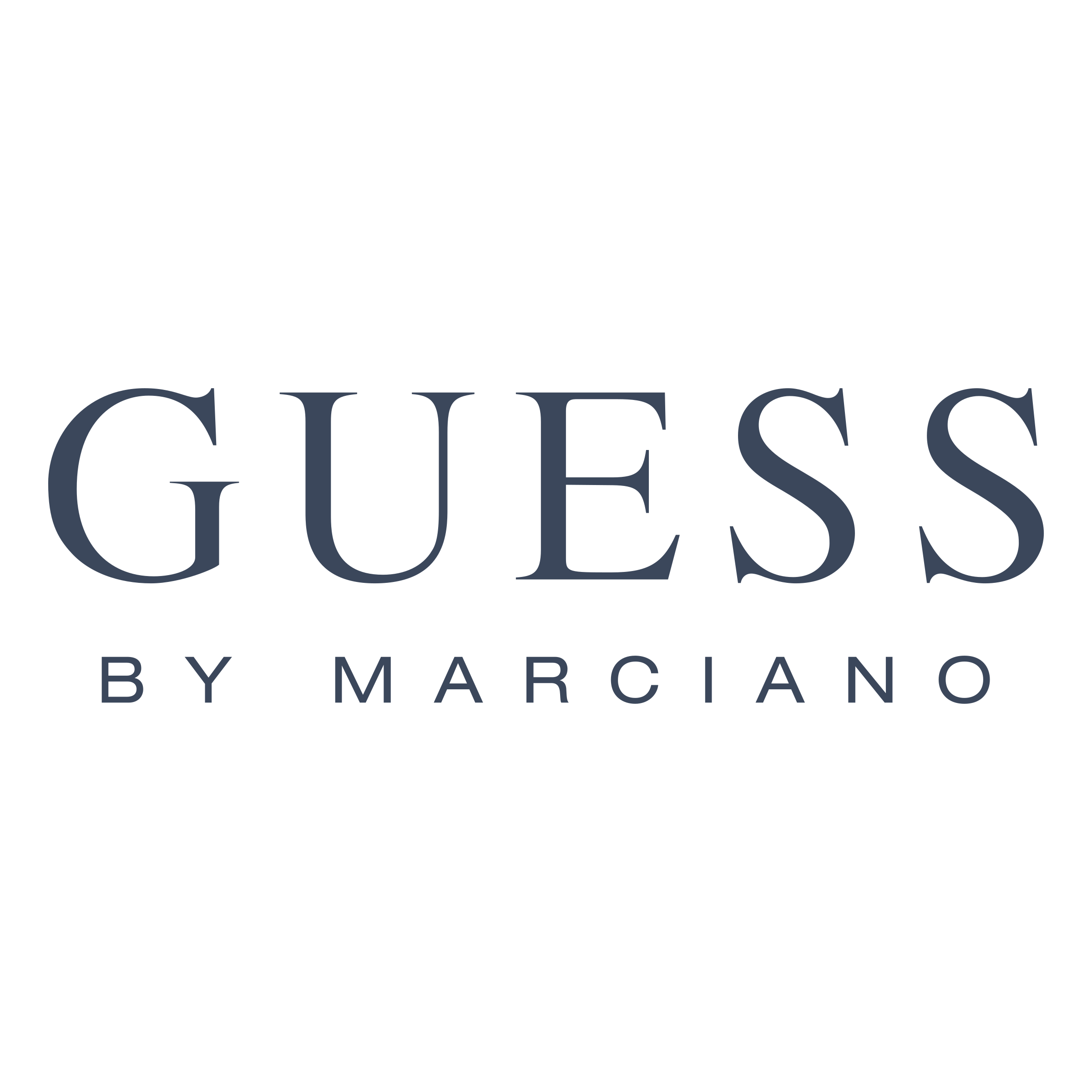 Guess by Marciano Logo PNG Transparent & SVG Vector.