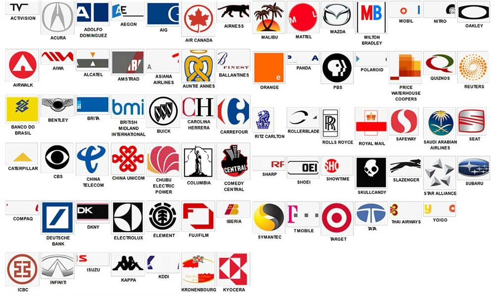 Company Logos Quiz With Answers.