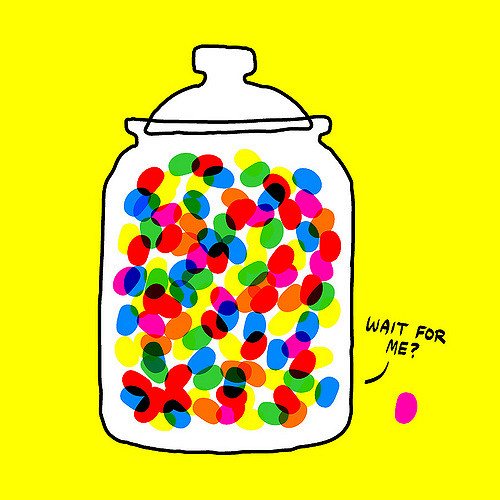 Guess How Many Jelly Beans Aren't in the Jar.