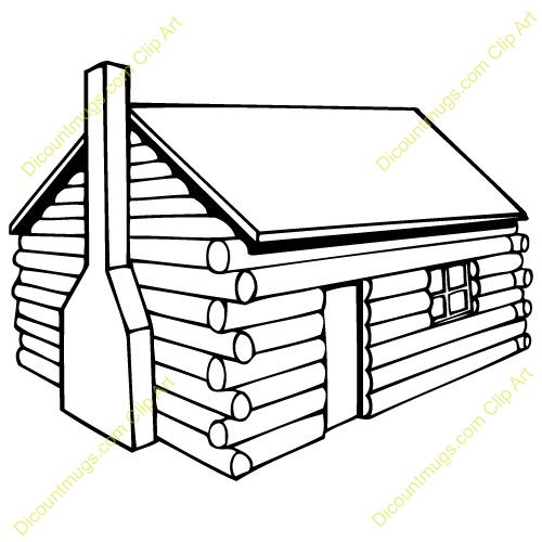 Log home clipart clipground