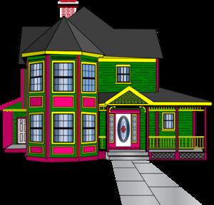 Guest house clip art.