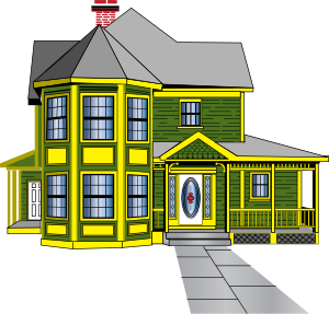 Guest house clipart.