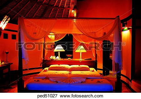 Picture of guest room, building, construction, day, room, Maldives.