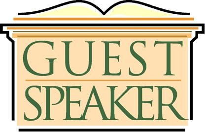 Guest Speaker Clipart.