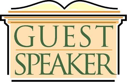 Guest Speaker Clipart.