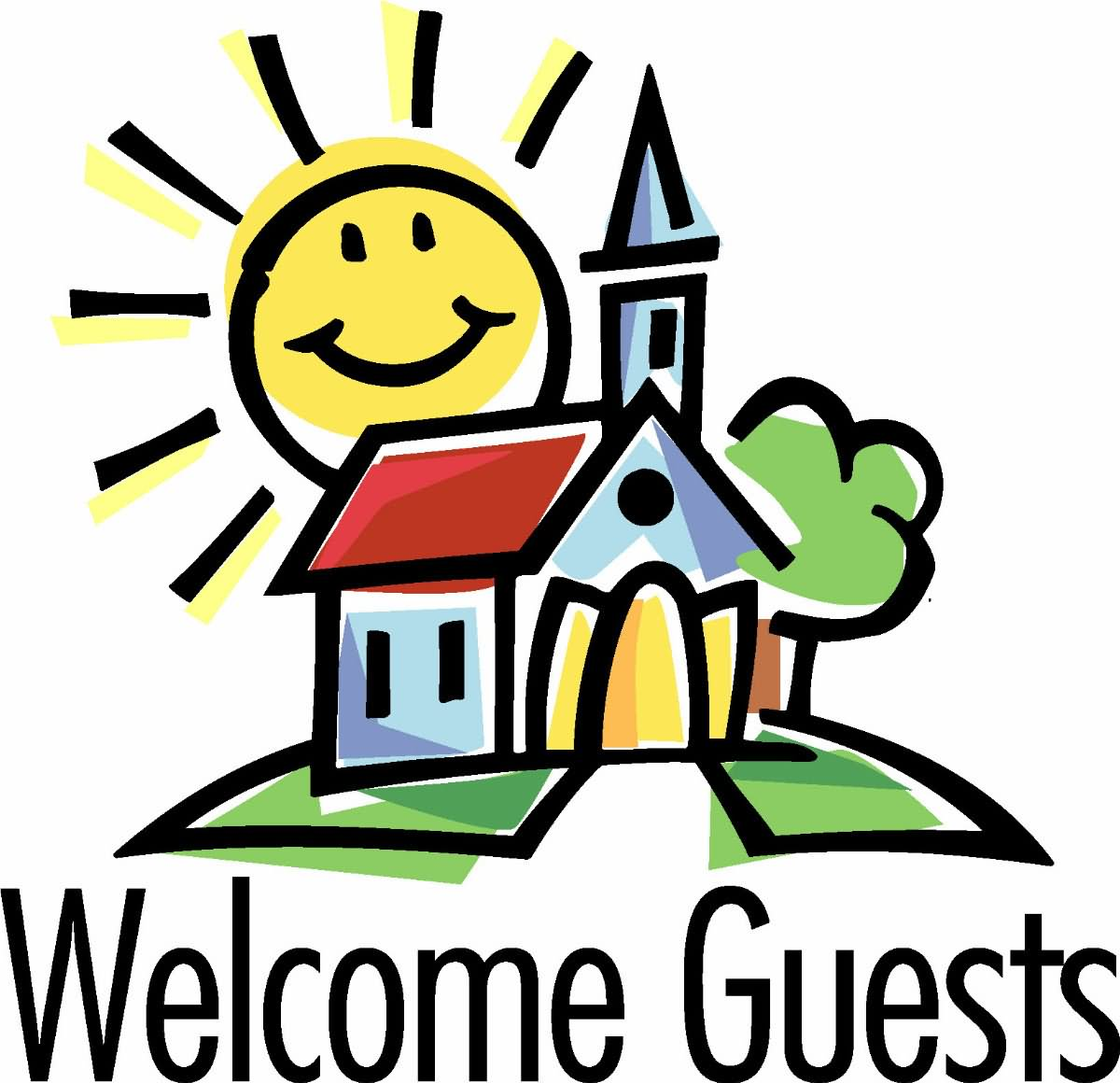 Guests welcome clipart - Clipground
