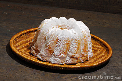 Guglhupf Cake Stock Image.