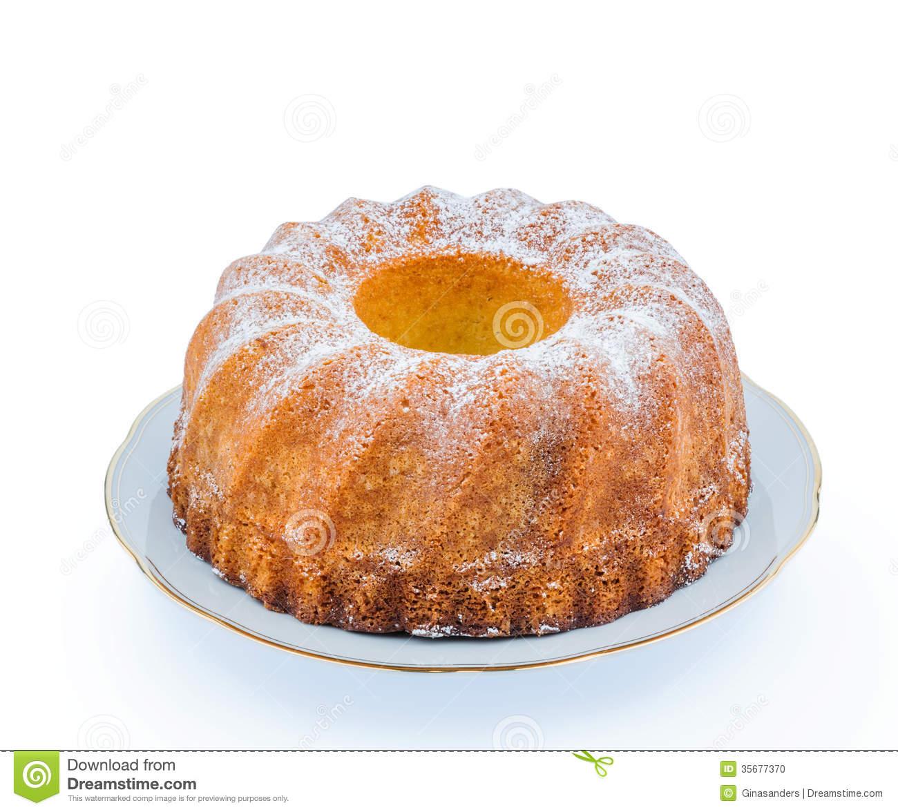 Marble Cake Stock Photo.