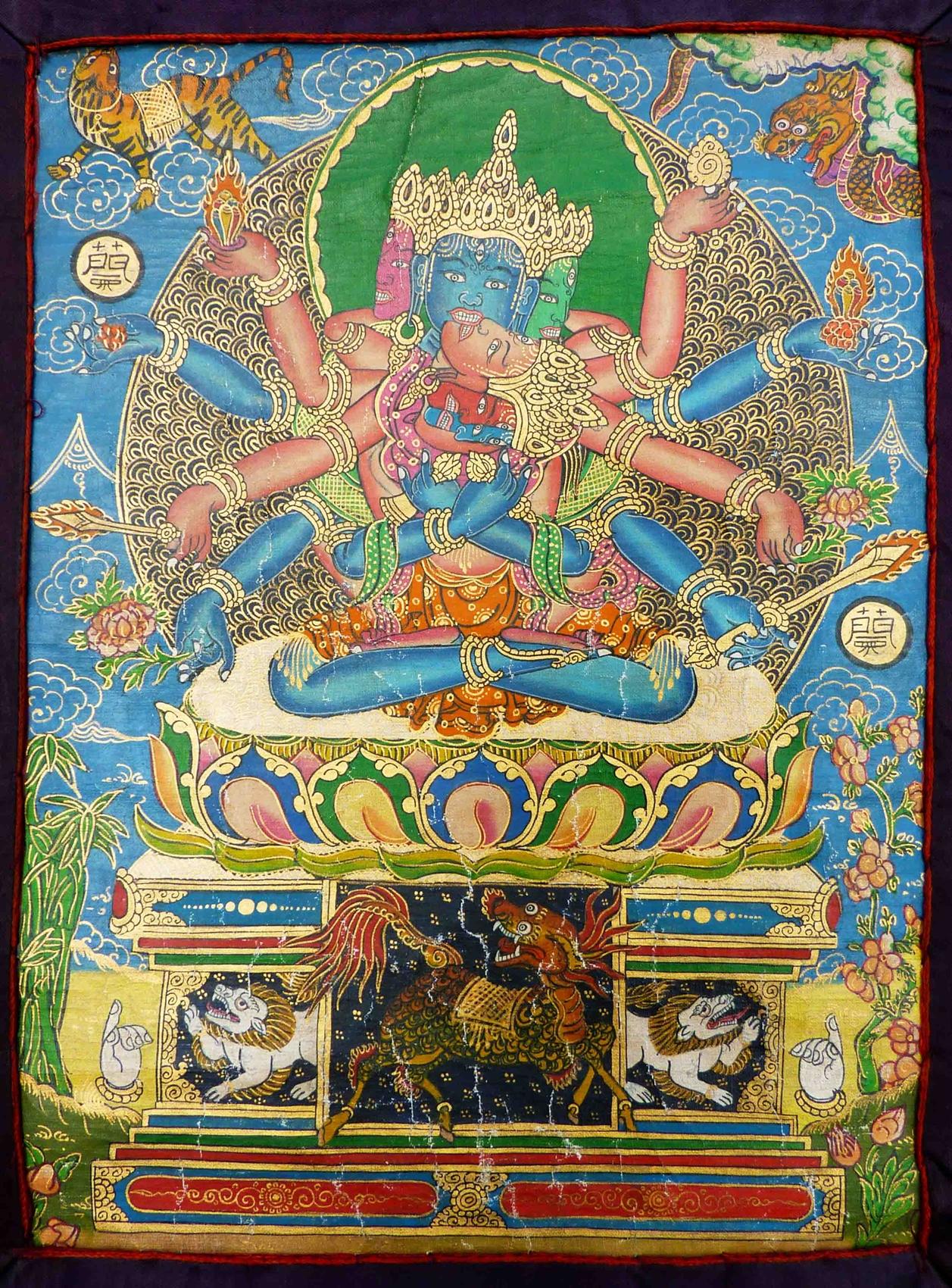 Tibetan Thangka for sale.