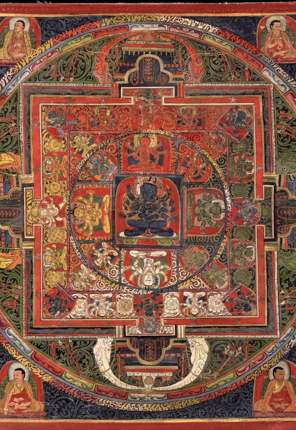 Mandala of Guhyasamaja, Akshobhyavajra.