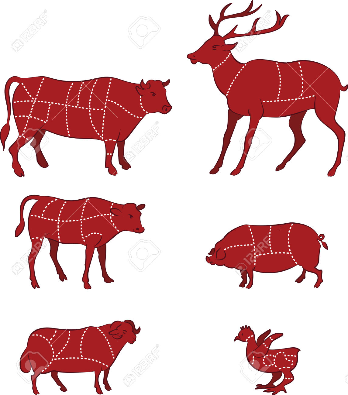 8,963 Cow Silhouette Cliparts, Stock Vector And Royalty Free Cow.