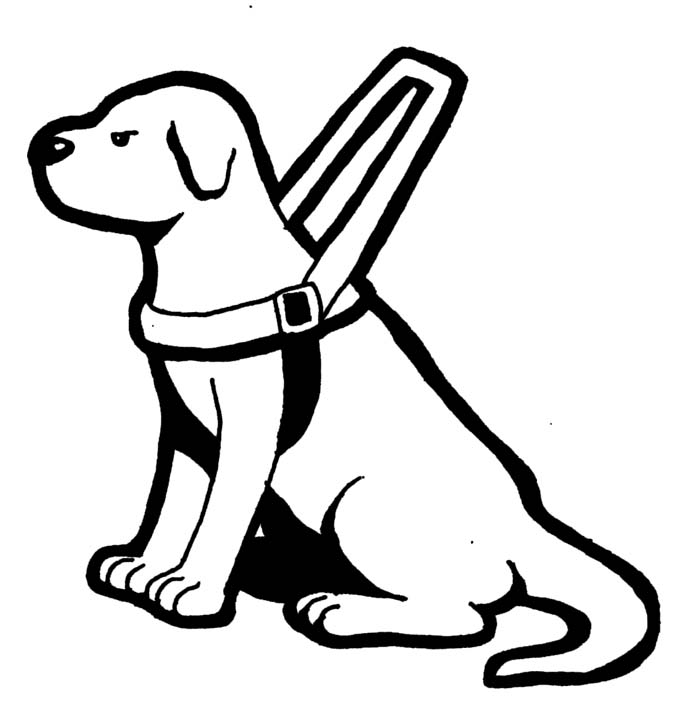Guide Dog Clipart.