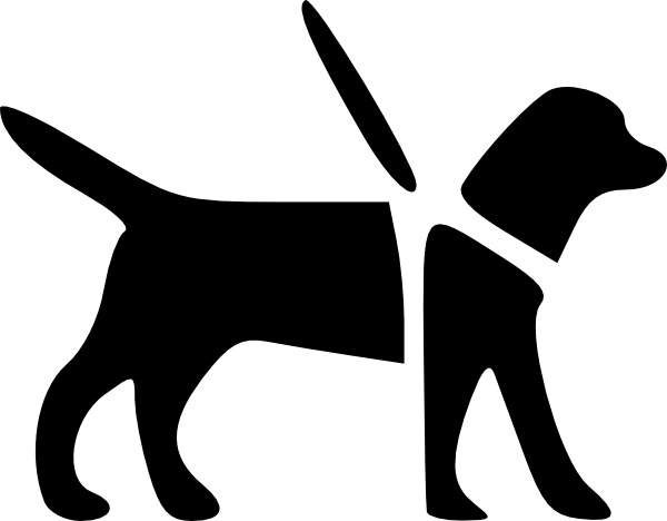 Guidedog clip art Free vector in Open office drawing svg ( .svg.