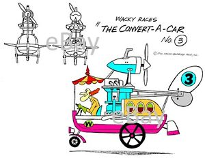 Hanna Barbera STYLE GUIDE PLATE.