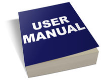 User manual clipart.