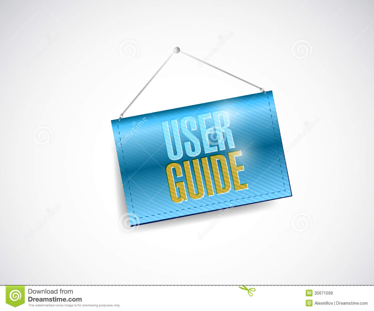 User guide clipart.