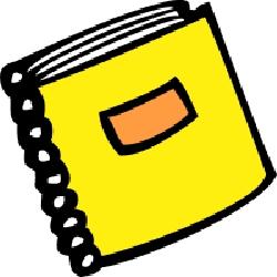 Guidebook Clip Art.
