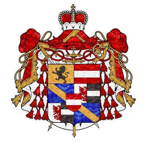 European Heraldry :: Fürsterzbistum Salzburg 1600.
