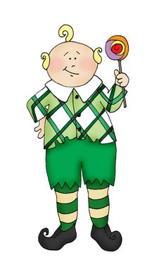 Lollipop Guild Clipart.