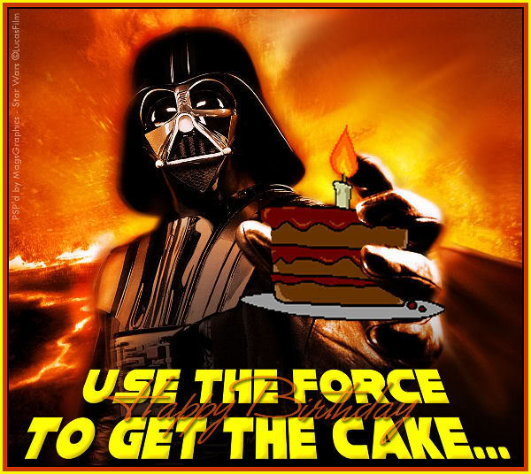 Star Wars Birthday Clipart.