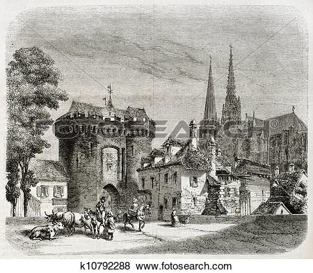 Stock Illustration of Porte Guillaume k10792288.