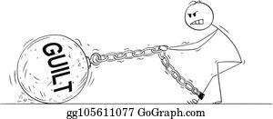 Guilt Clip Art.
