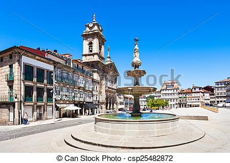 Picture of Toural Square, Guimaraes.